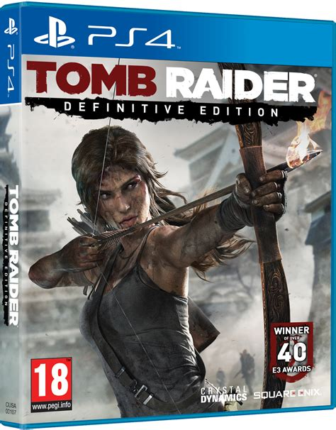 The Definitive Edition Of Tomb Raider Coming To