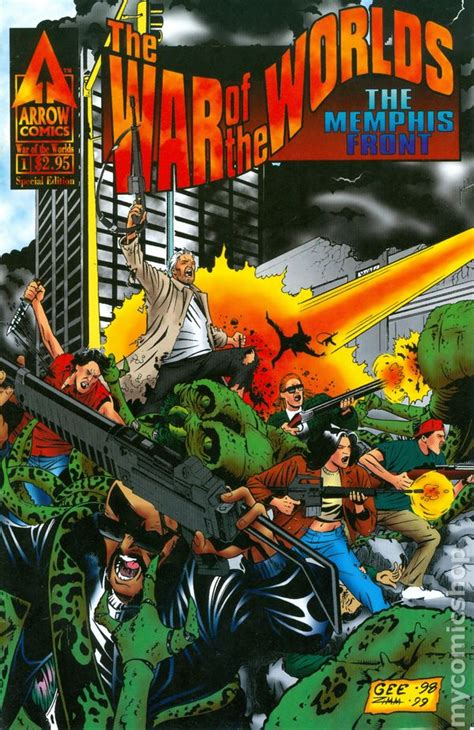 War of the Worlds The Memphis Front (1998) comic books