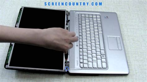 Dell Inspiron 1525 screen replacement tutorial (How to