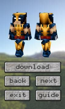 Superheroes Skins Pack for Minecraft PE for Android - APK