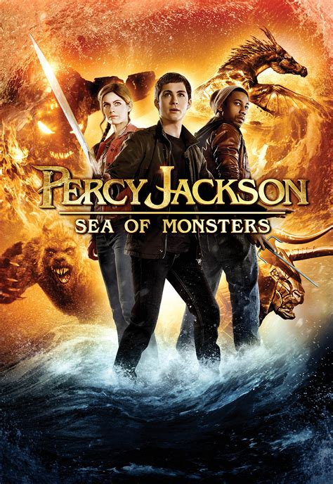 Percy Jackson: Sea of Monsters (2013) - Posters — The
