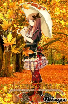 anime fall girl Picture #100259440 | Blingee