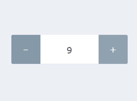 Animated Input Spinner With Pure JavaScript and CSS/CSS3