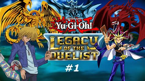 Yu-Gi-Oh Legacy of the Duelist - Part 1 - (PS4 Gameplay