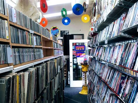 Browse vinyls at The Record Man – until suburbia!