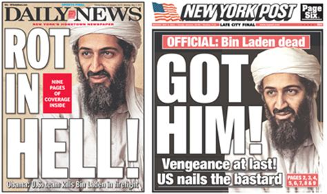 Osama Bin Laden is dead, and we know how we feel