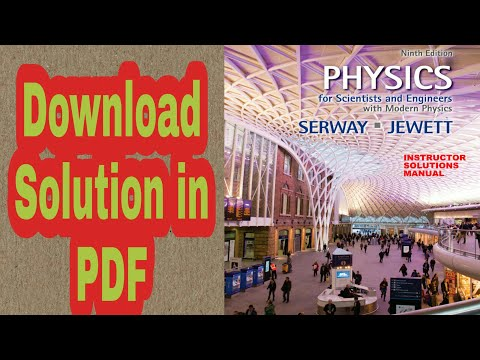 Solution Manual for Physics for Scientists and Engineers