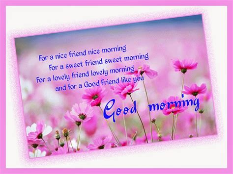 Good Morning wishes pictures for friends - morning pics